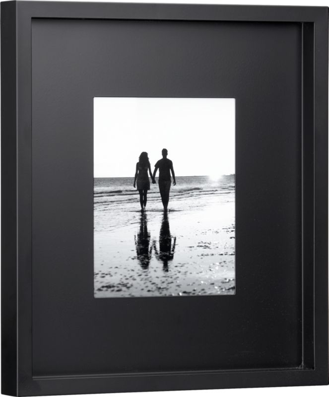 black matte 8x10 picture frame