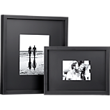 black matte picture frames