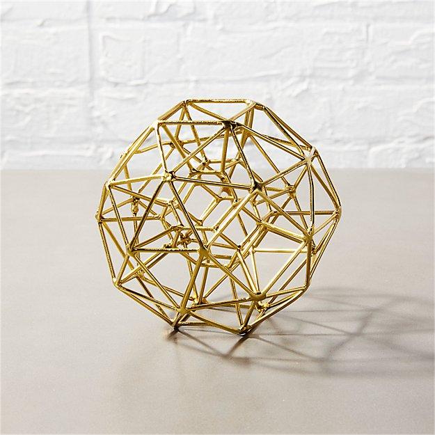 max brass small sculpture