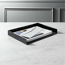 mcqueen black letter tray