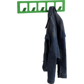metal high gloss clover coat rack