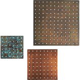 3-piece metal grate set