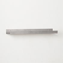 """metal aluminum wall shelf 24"""""""