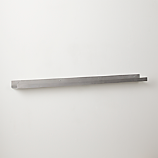 metal aluminum wall shelf 48""