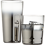 metallic barware