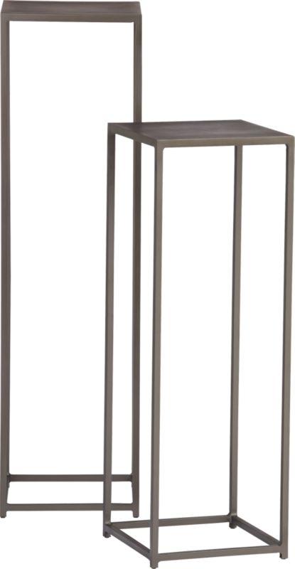 mill pedestal tables