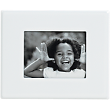 mini white magnetic 1.5x2 picture frame