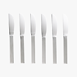 set of 6 mini cocktail spreaders
