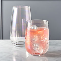 mirage iridescent barware