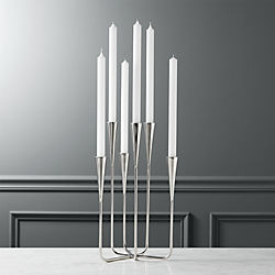 mission six taper candle holder