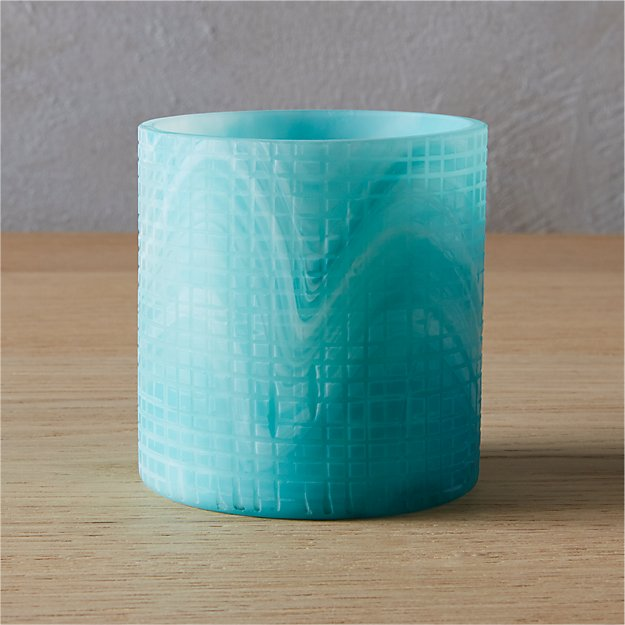 mist tea light candle holder