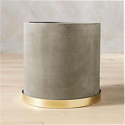 moda cement planter