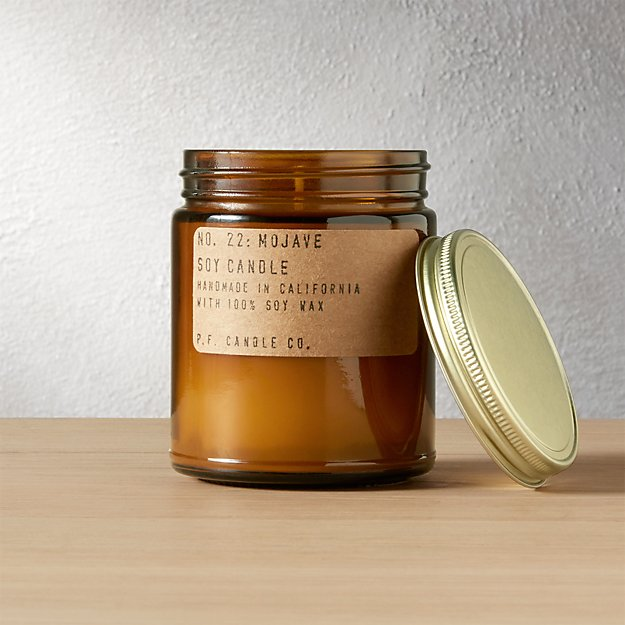 mojave soy candle