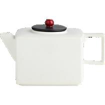 mood white teapot