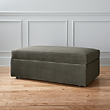 movie storage ottoman