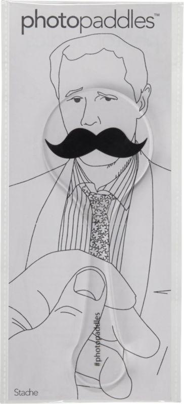 mustache photopaddle