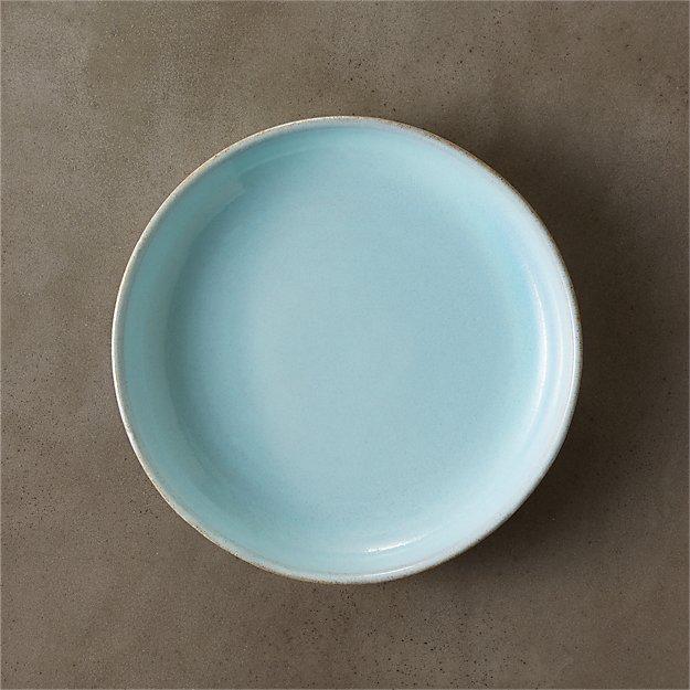 natural clay salad plate