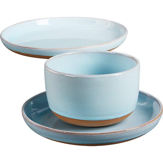 natural clay dinnerware