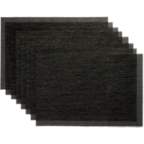 net carbon placemats set of eight