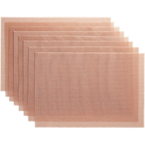 net pink placemats set of eight