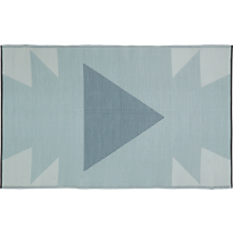 neutral reversible outdoor rug