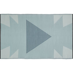 neutral reversible outdoor rug