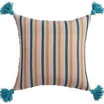 "nimah stripes 18"" pillow"