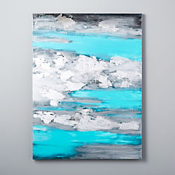ocean storm canvas painting