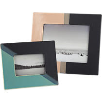 ojai dipped ceramic picture frames