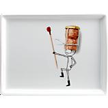 oliver champagne cork appetizer plate