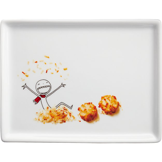 oliver coconut macaroon appetizer plate