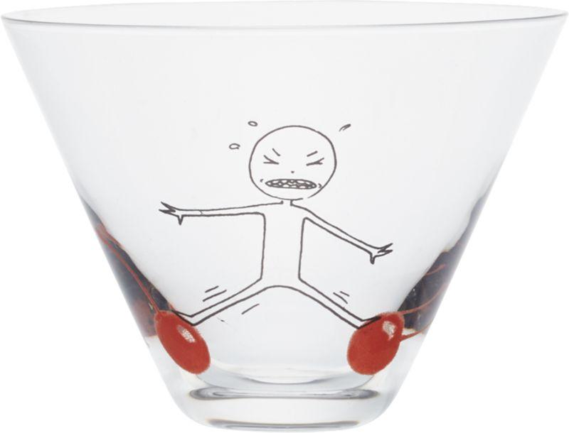 oliver balance cherry martini glass