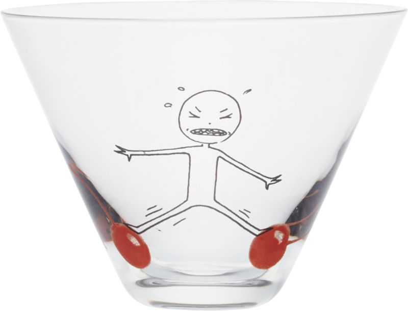 oliver balance cherry martini glass