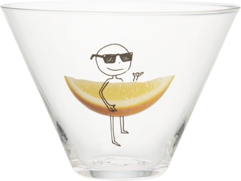 oliver lemon martini glass