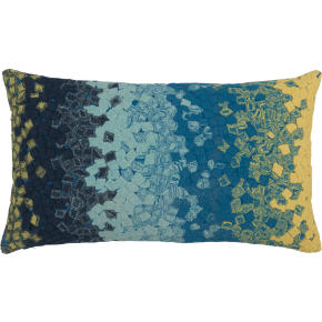 ombre fossette 20x12 outdoor pillow