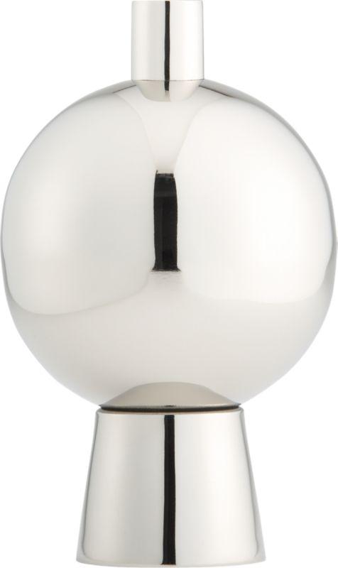 orbit stainless steel vase