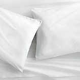 organic white percale sheet sets