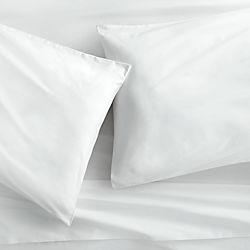 organic white percale sheet sets