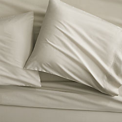 organic oat percale sheet sets