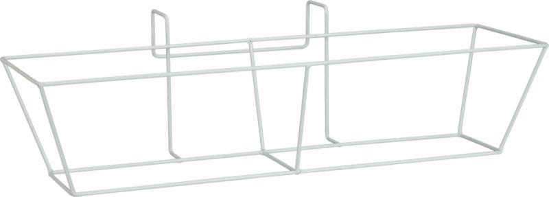 oscar rectangular metal rail frame