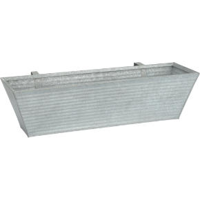 oscar rectangular rail planter
