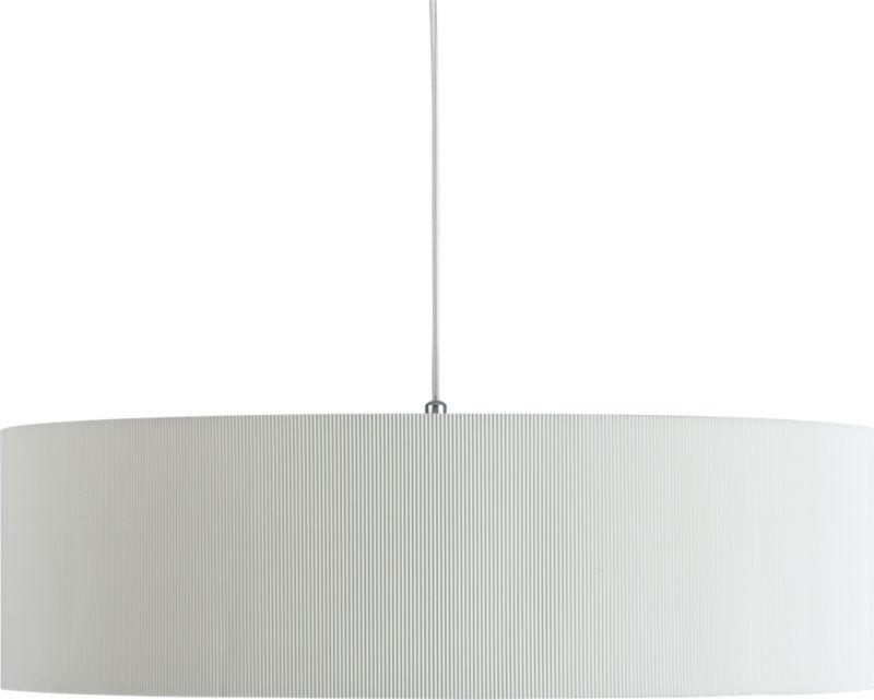 oversized equator pendant light