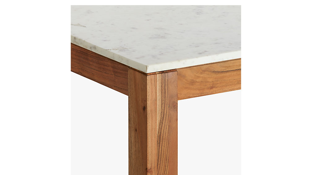 palate marble high dining table