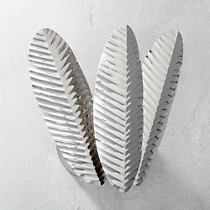 palm frond wall sconce