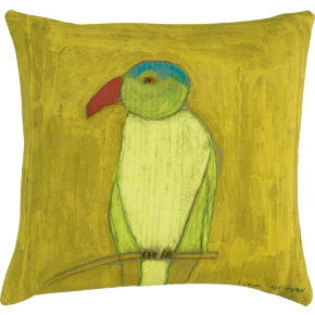 parrot 18 pillow