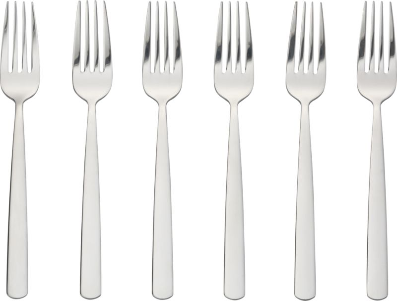 set of 6 party forks
