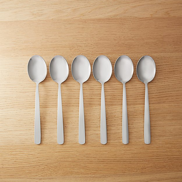 set of 6 party spoons