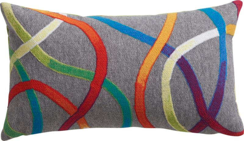 "path 20""x12"" outdoor pillow"
