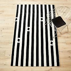 pause hand-loomed rug