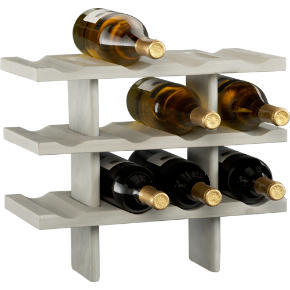 pavilion stacking wine rack shopping in CB2 storage